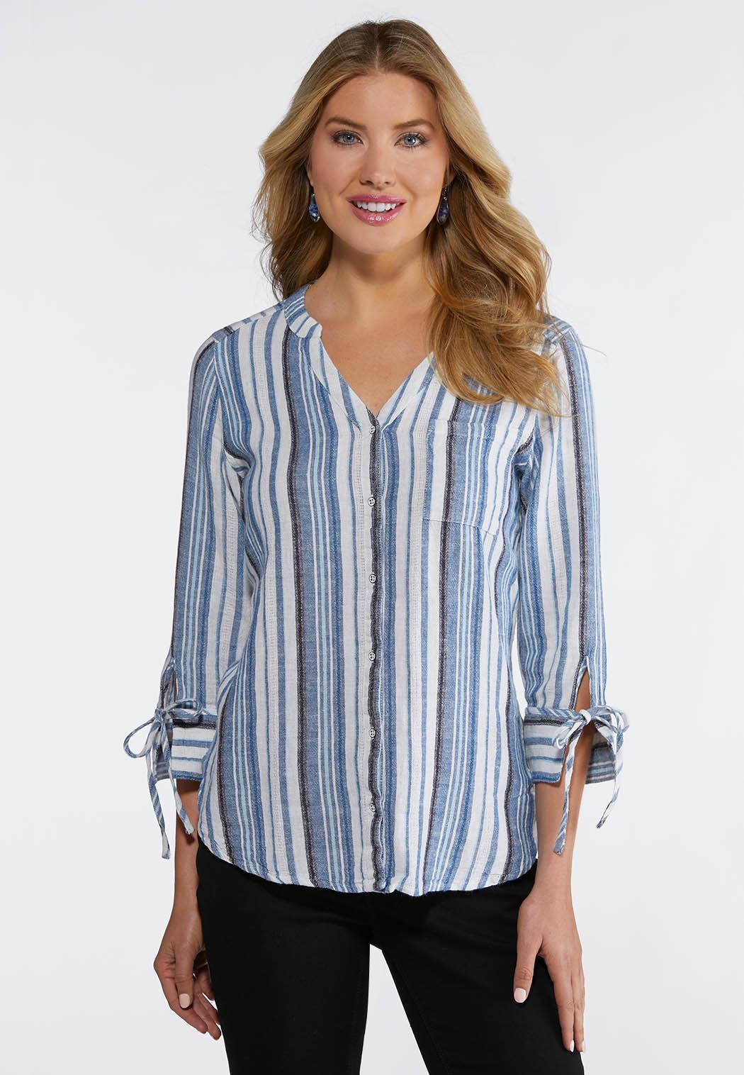 2e1a6ea7 Stripe Linen Shirt alternate view Stripe Linen Shirt