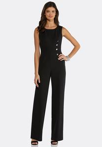 Side Button Jumpsuit