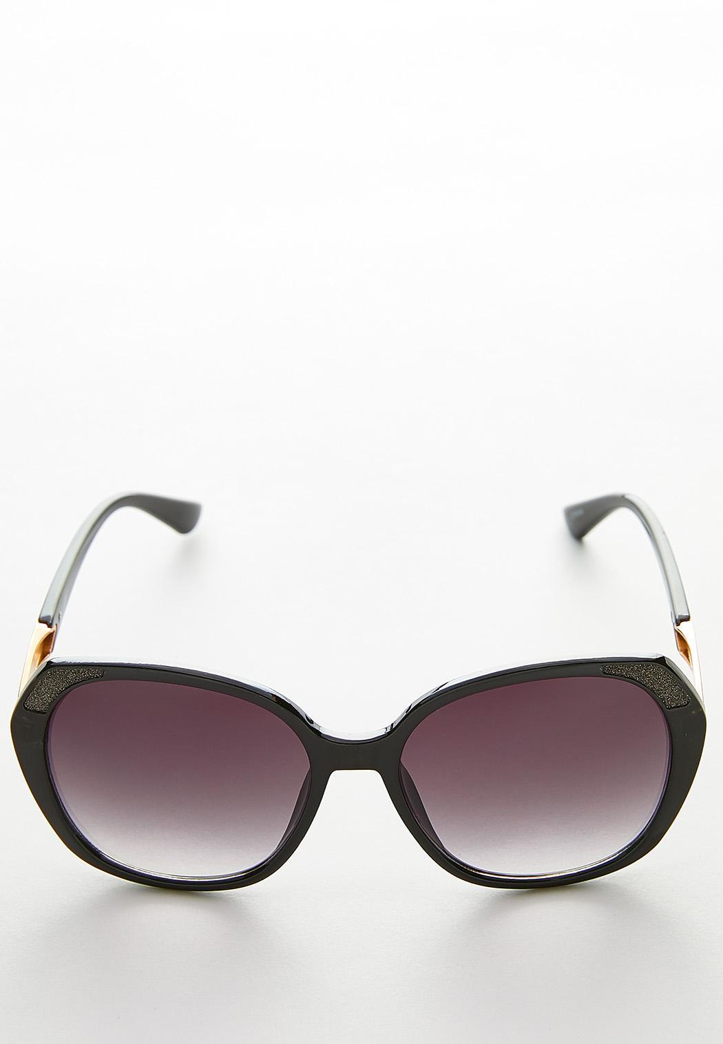 8de6dc8486 Glitter Rim Oversized Sunglasses Sunglasses Cato Fashions