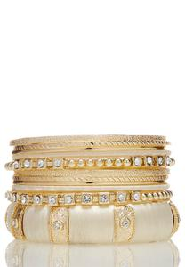 Chunky Assorted Bangle Set