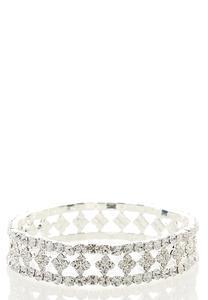 Clover Stone Stretch Bracelet