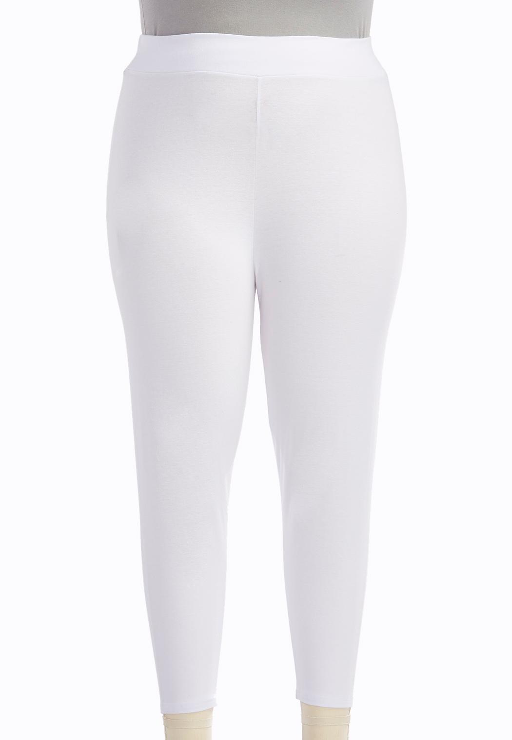 Plus Size Essential Capri Leggings