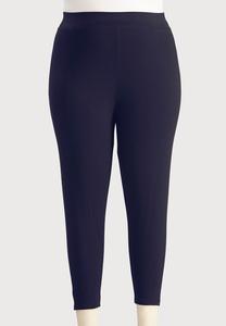 Plus Extended Essential Capri Leggings