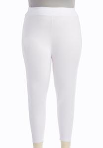 Plus Extended Essential Capri Leggings