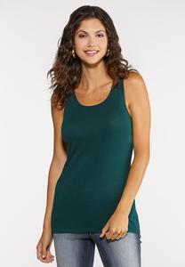 Plus Size Essential Cotton Tank