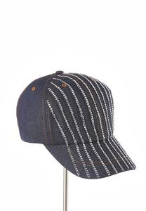 Rhinestone Denim Hat