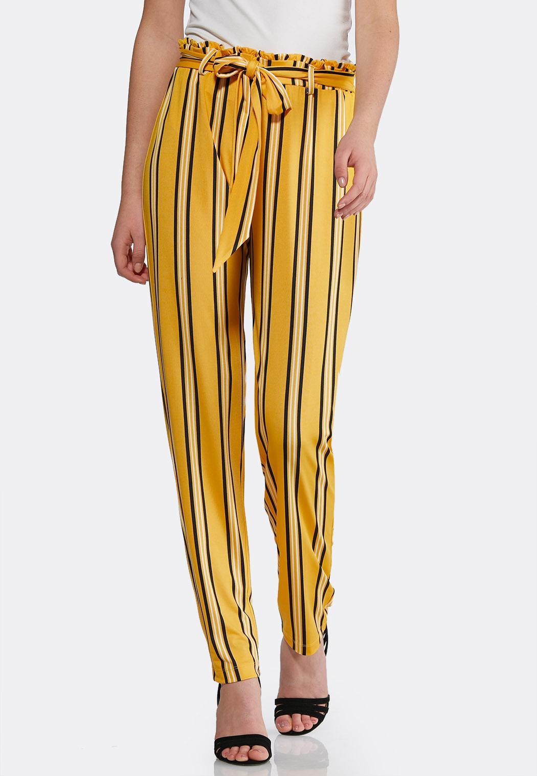 Gold Stripe Pants