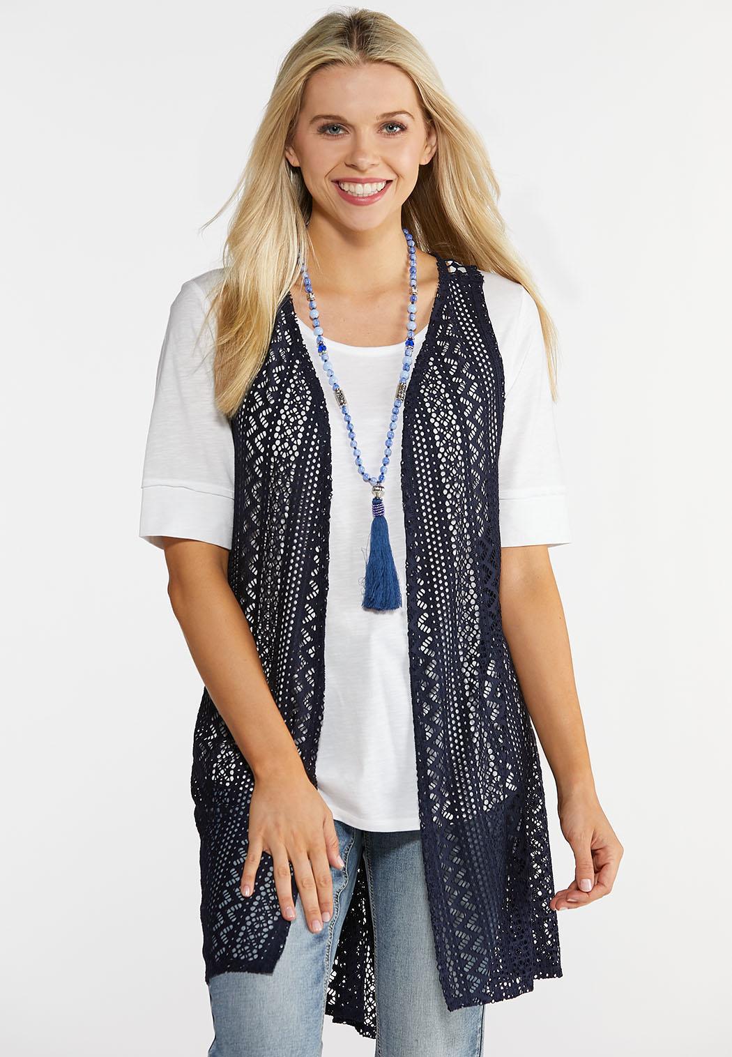 Crochet Racerback Layering Vest