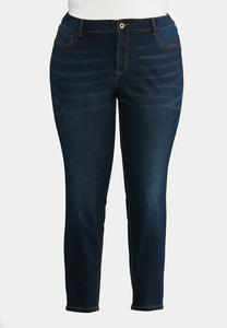 Plus Petite Classic Dark Wash Jeggings