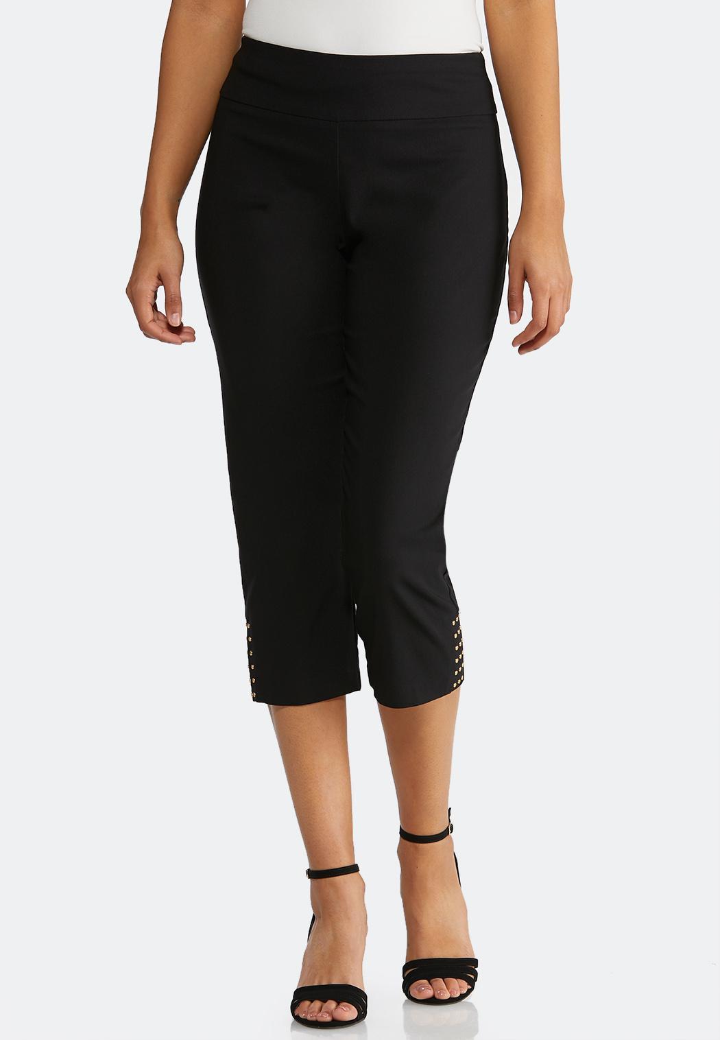 Cropped Embellished Pants