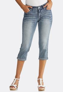Cropped Uplifting Skinny Jeans