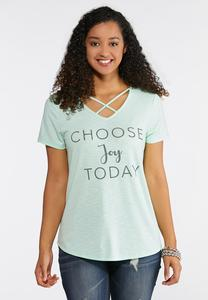 Choose Joy Tee
