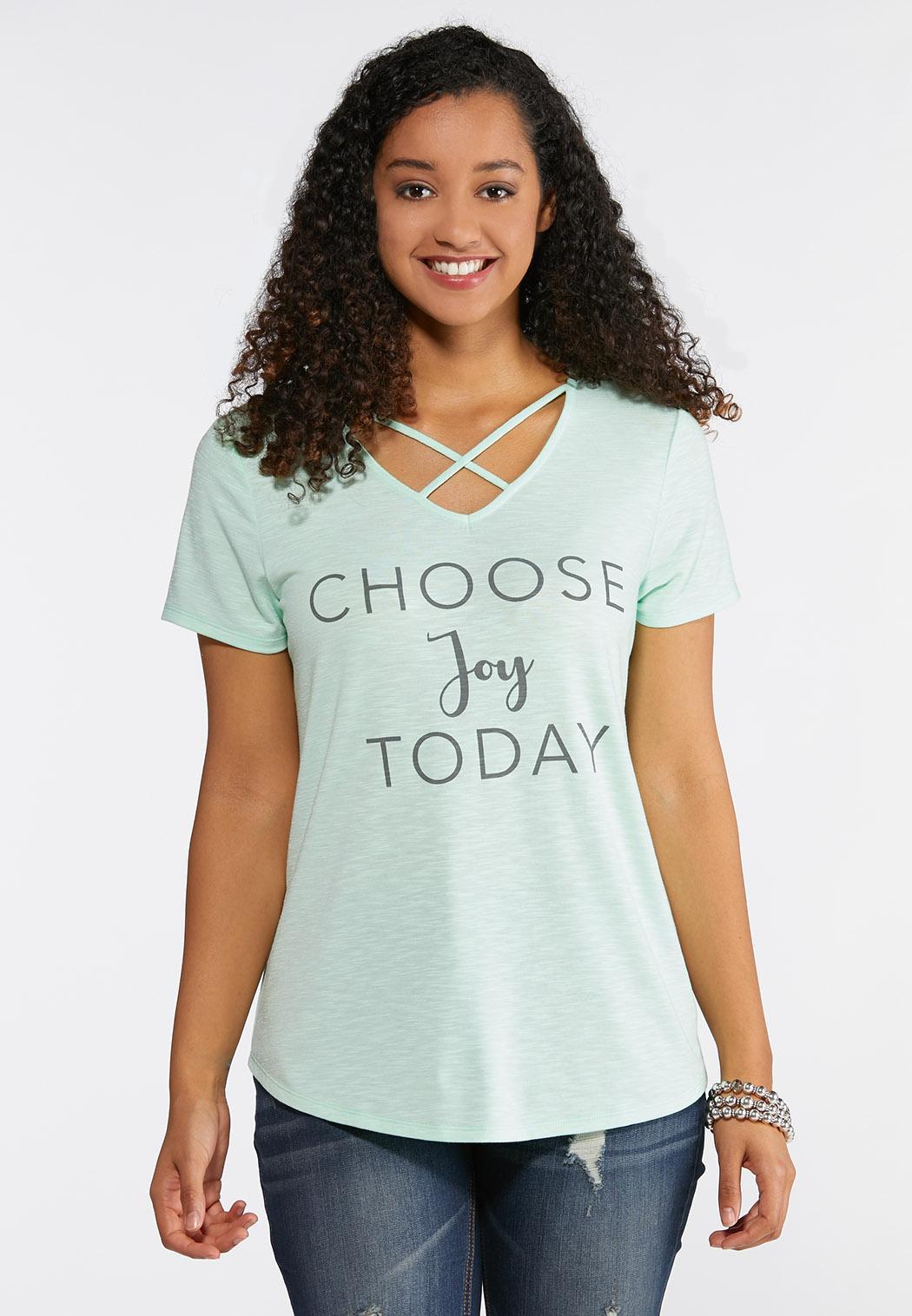 Plus Size Choose Joy Tee
