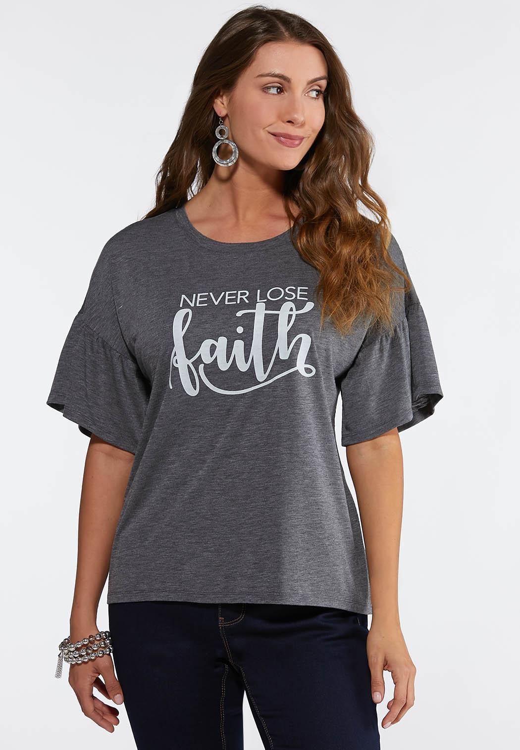 Never Lose Faith Tee