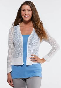 Plus Size Delicate Cardigan Sweater