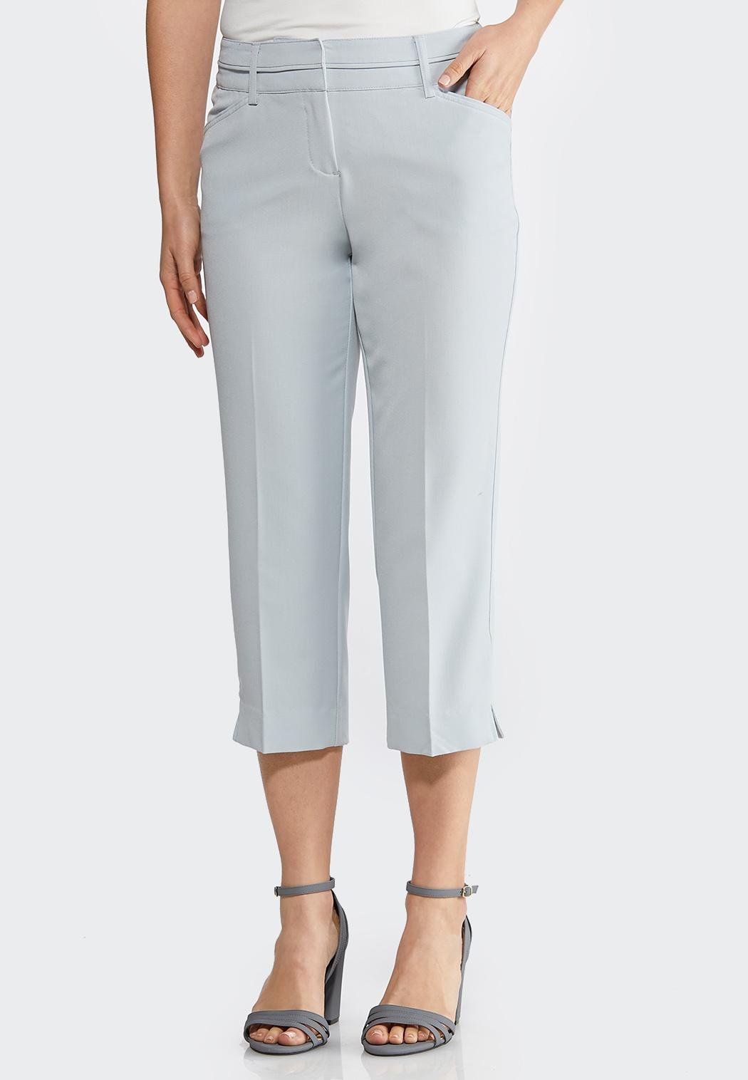 Cropped Trouser Pants