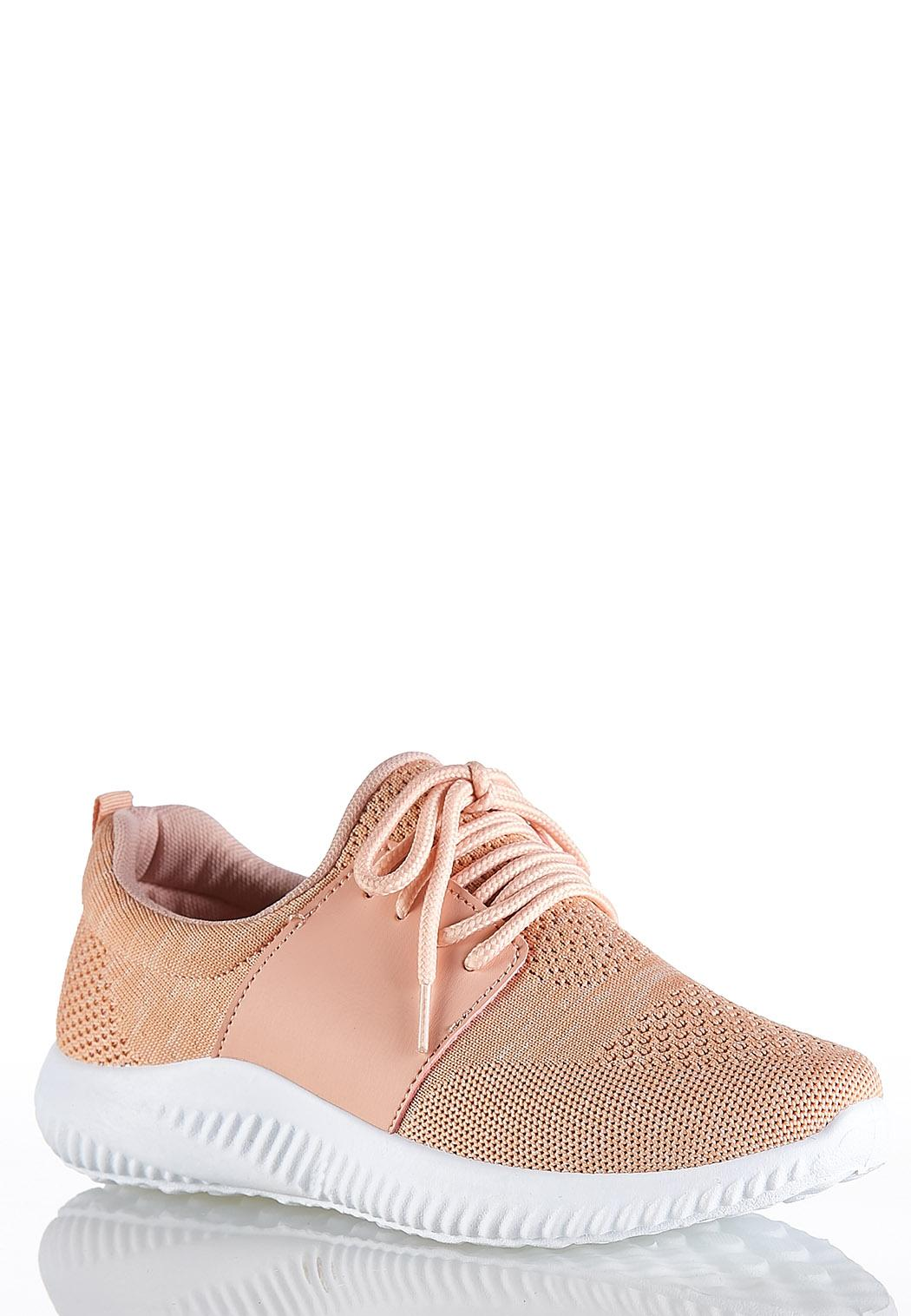 Lace Up Flyknit Sneakers