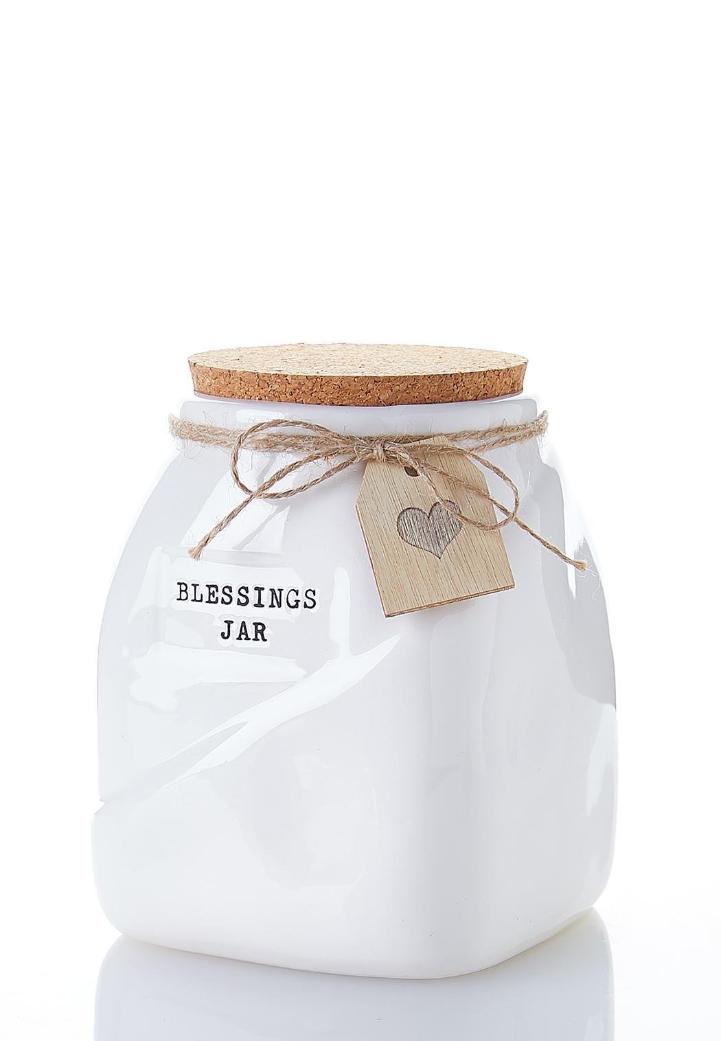 Blessings Ceramic Jar