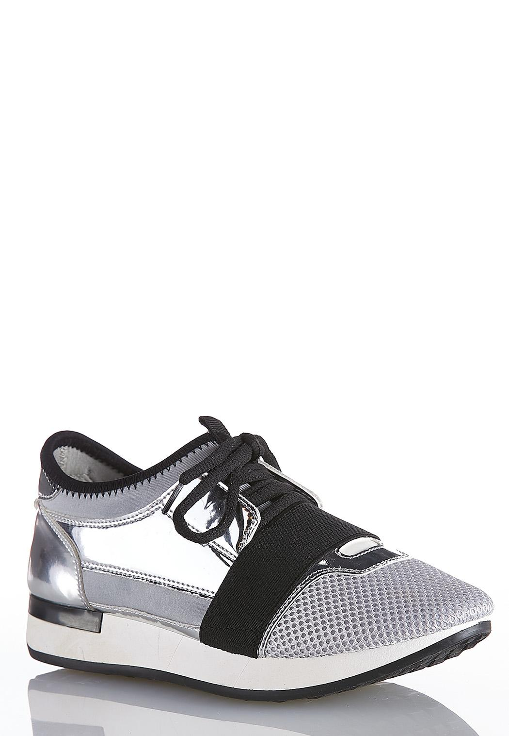 Chunky Sole Lace Up Sneakers
