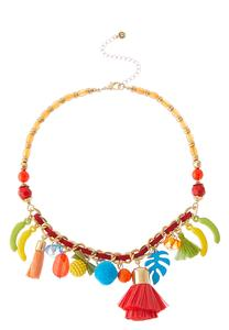 Tropical Charm Short Necklace