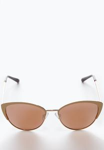 Mirrored Cateye Sunglasses