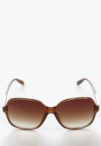 Tortoise Square Sunglasses