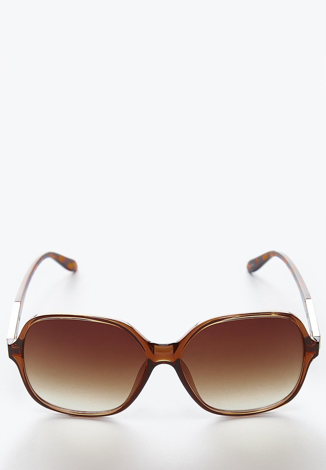 408fda8804 Tortoise Square Sunglasses Sunglasses Cato Fashions
