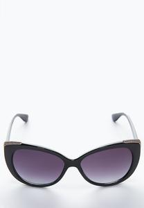 Shimmer Rim Fashion Sunglasses