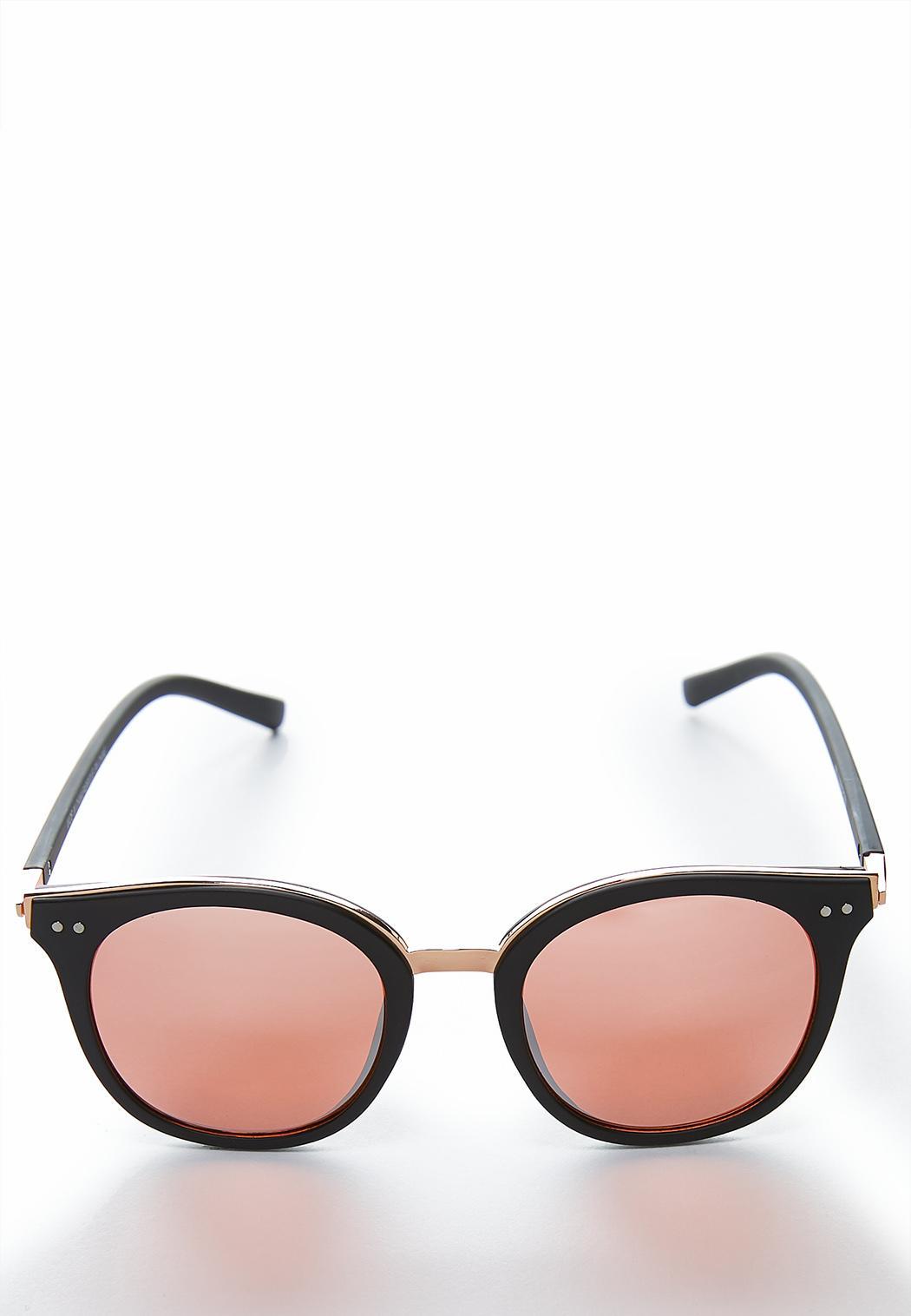 b724626f62 Black Matte Mirrored Sunglasses Sunglasses Cato Fashions