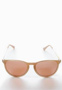 Neutral Mirrored Sunglasses