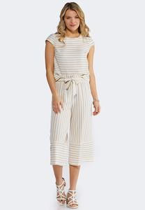 Striped Two-Piece Set