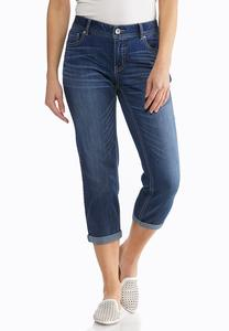 Cropped Girlfriend Jeans