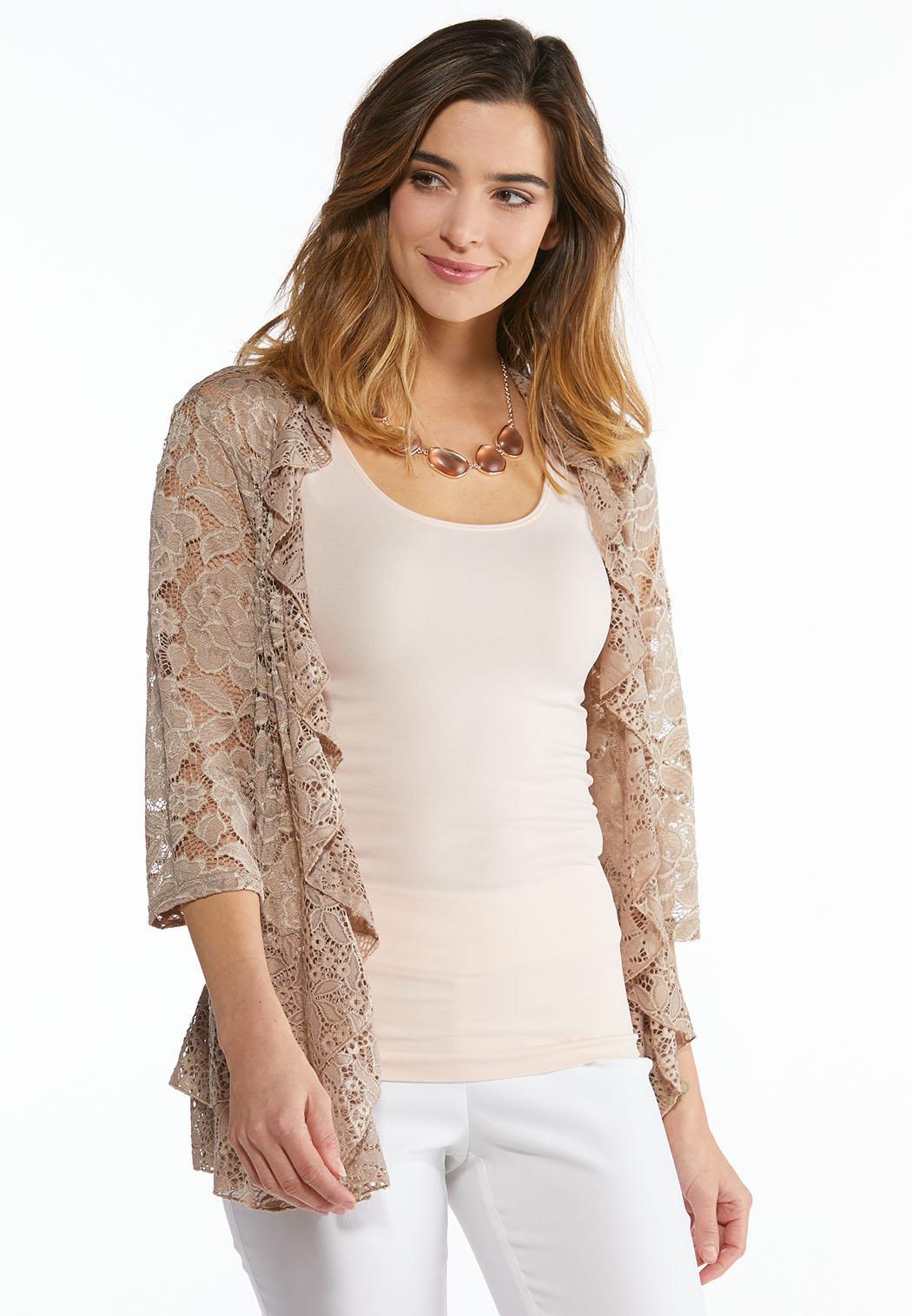 Floral Lace Cardigan