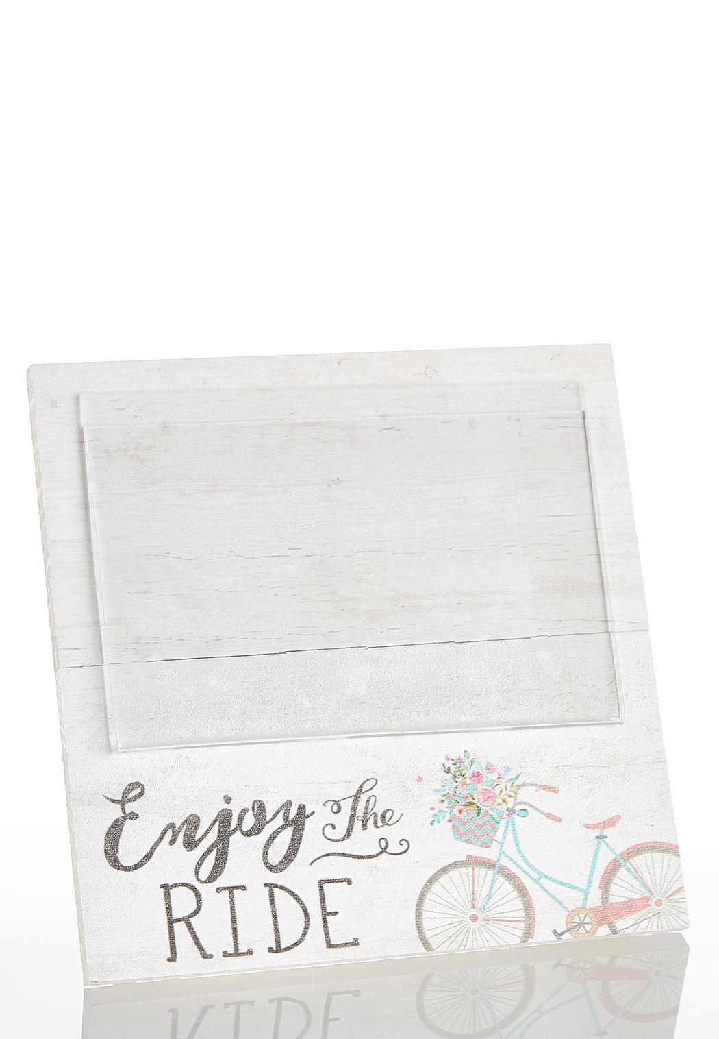 Enjoy The Ride Picture Frame