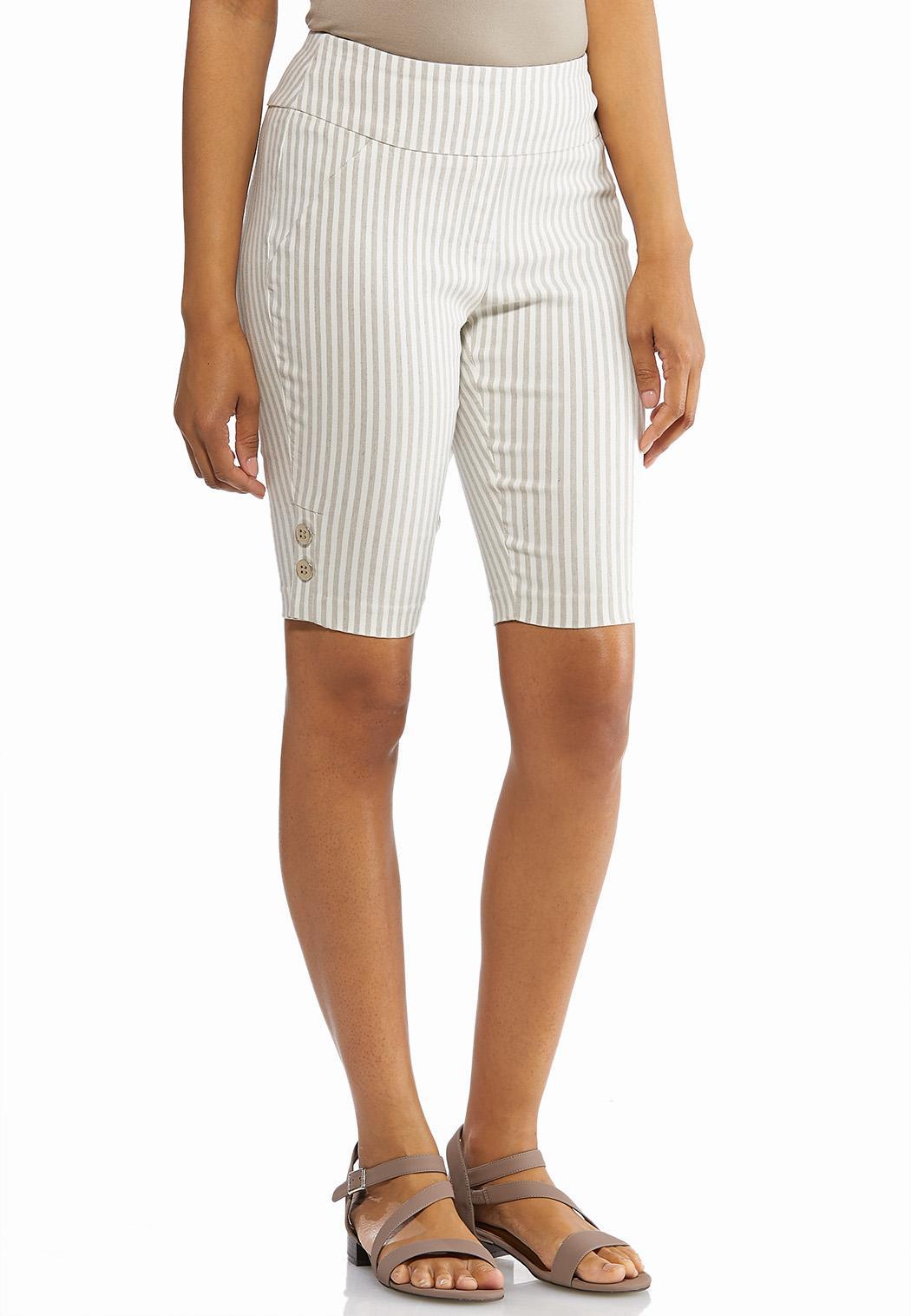 e4bf23bda0c Striped Bermuda Shorts alternate view · Striped Bermuda Shorts
