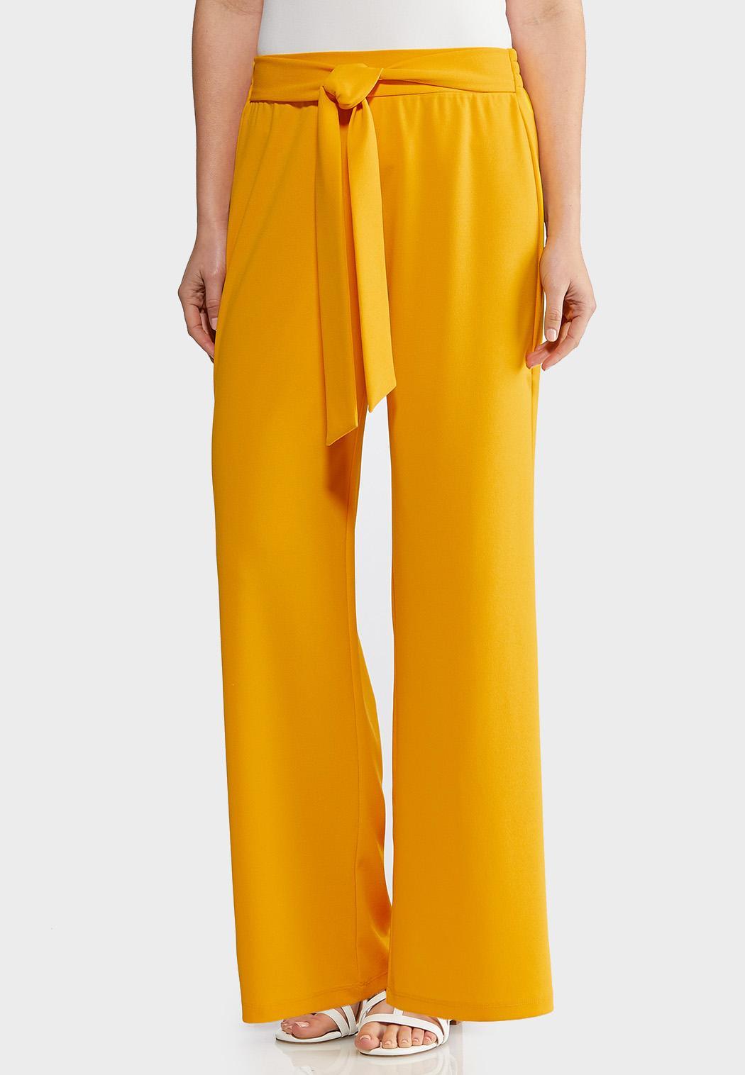22f1e4ecd75 Tie Waist Wide Leg Pants Wide Leg Cato Fashions