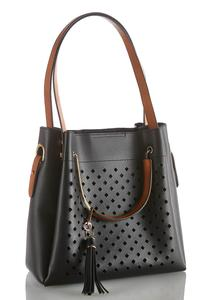 Laser Cut Metal Handle Hobo