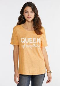 Plus Size Queen Everything Tee