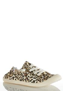 Leopard Scrunch Sneakers