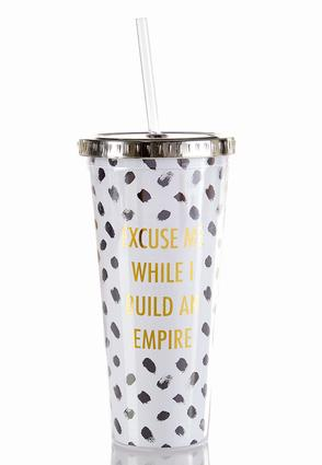 Build Empire Tumbler Water Bottle