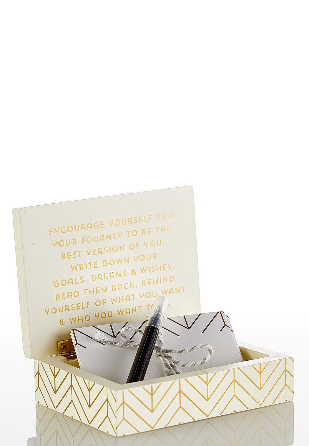 Wishes Trinket Box