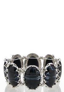 Oval Stone Stretch Bracelet