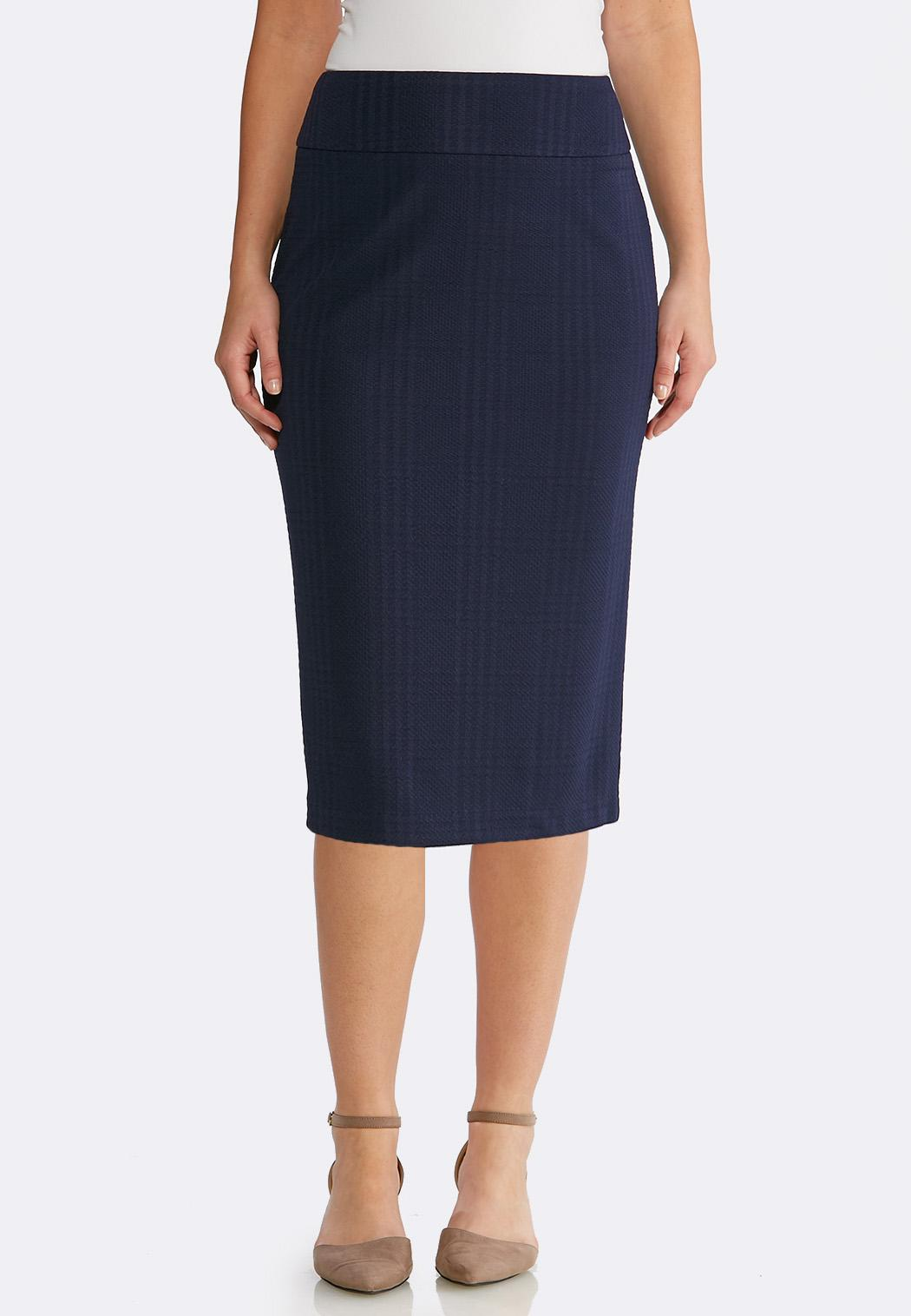 fd845103b0b Plus Size Textured Pencil Skirt Skirts Cato Fashions