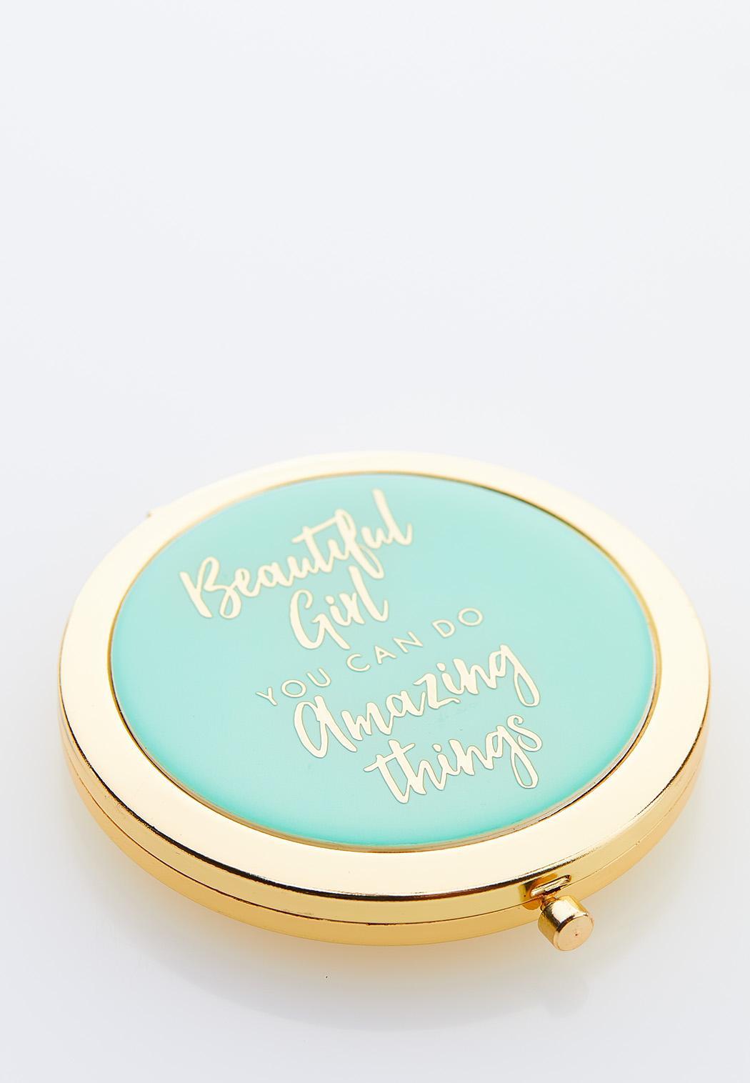 Beautiful Girl Compact Mirror