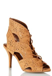 Lace Cutout Shooties