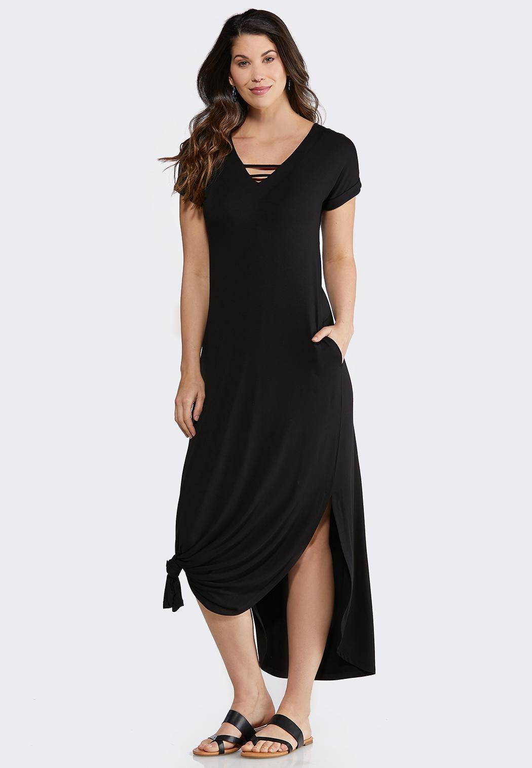 V Neck Long Dresses