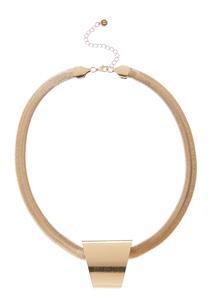 Metal Pendant Chain Necklace