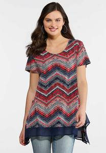 Chevron Sharkbite Top