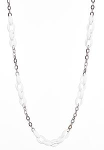 Colored Link Chain Necklace