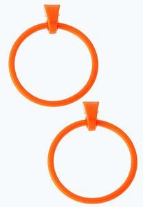 Color Large Hoop Earrings